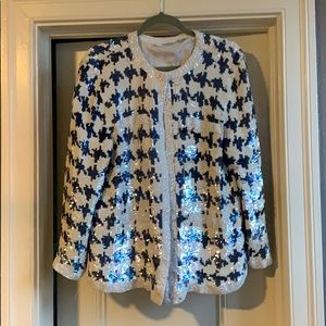 664d32586ac Women s White And Blue White Vintage Blazer on Poshmark
